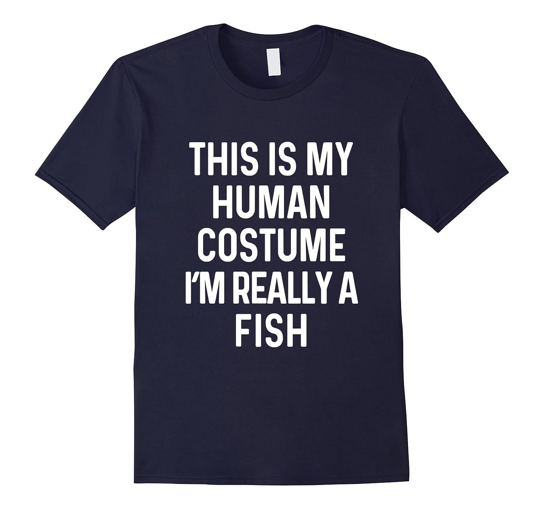 Funny Fish Costume ...  sc 1 st  Sunflowershirt & Funny Fish Costume Shirt Halloween Adults Kids Men Women-FL ...