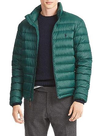 Polo Ralph Lauren Veste Bleeker Vert Homme  Amazon.fr  Vêtements et  accessoires 993a205e171