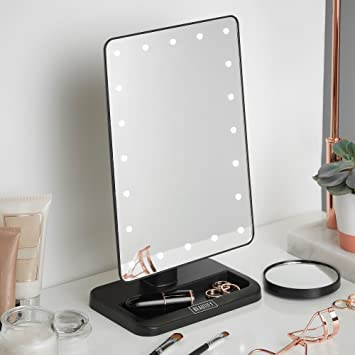 Amazoncom Beautify Lighted Makeup Mirror With 20x Led Lights