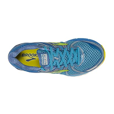 d69bcde4ade Brooks Adrenaline GTS 17 Azure Blue Palace Blue Lime Punch Women s Running  Shoes  Amazon.in  Shoes   Handbags