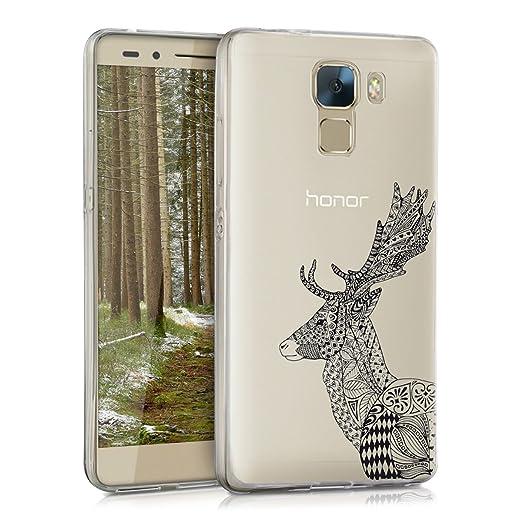 118 opinioni per kwmobile Cover per Huawei Honor 7 / Honor 7 Premium- Custodia in silicone TPU-