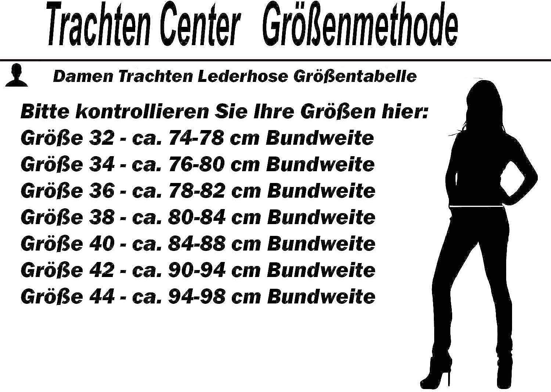 Trachten Lederhose Damen Glattleder Lederhose Wildleder Lederhose Gr 32-44