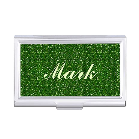 Amazon seral dik business card holder case glitter monogrammed seral dik business card holder case glitter monogrammed business card holder colourmoves