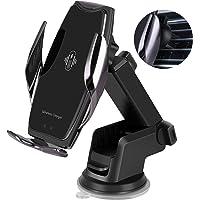 Deals on HonShoop Car Phone Mount-Auto-Clamping Smart Sensor 10W