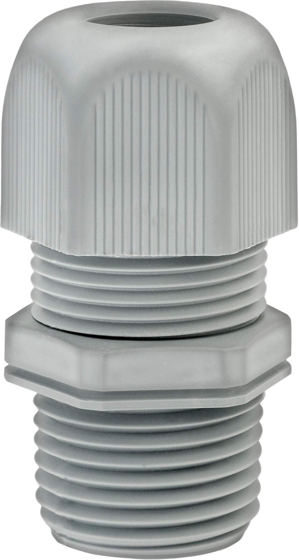 Clipsandfasteners Inc Strain Relief Cord Connector 1/2 Thread by Clipsandfasteners Inc