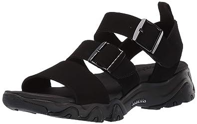 aa36b1c412f Skechers Women s D Lites 2.0-Cool Cosmos-Triple Band Sling Back Sport Sandal