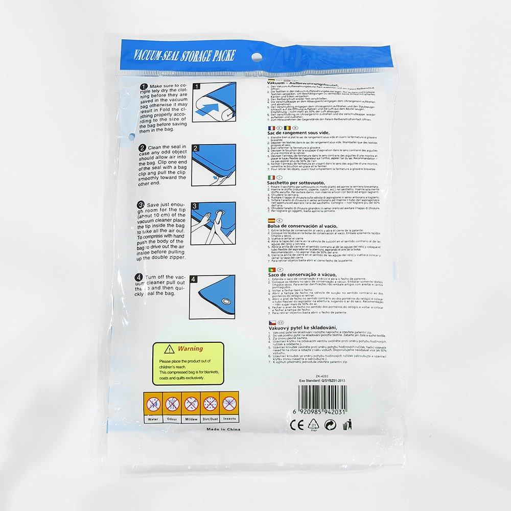 Neuer Space Saver Speicher sparen Siegel Vakuumbeutel komprimierte Organisator Tasche A