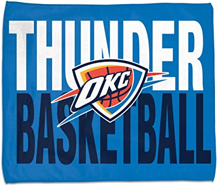 Wincraft NBA Oklahoma City Thunder OKC Rally Towel 15x 18