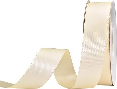 New 25 Yards Satin Ribbon Wedding Party Gift Satin Ribbon Wrapping Package Decor