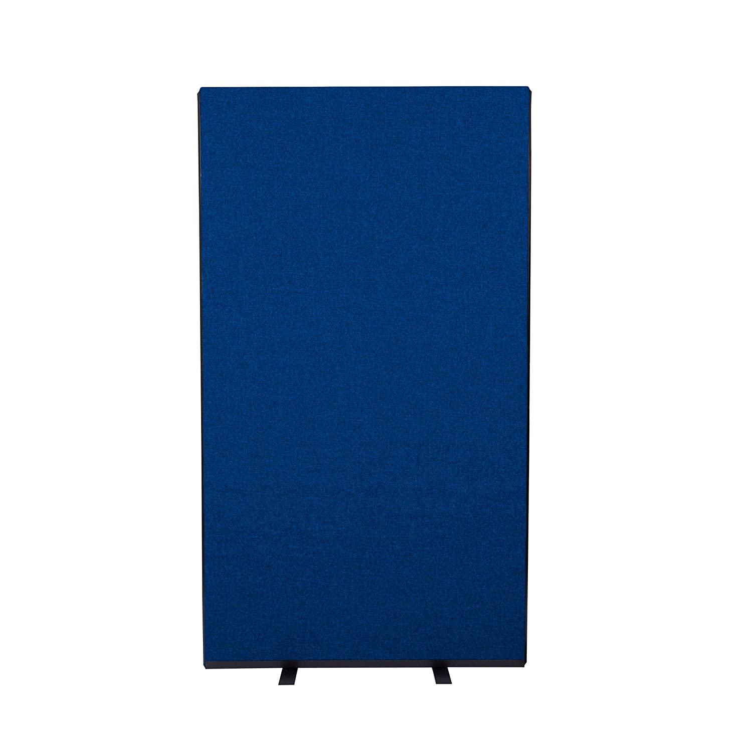 Navy blueee 1000mm W x 1800mm H Panelwarehouse 1000mm W x 1500mm H Free Standing Office Partition Screens Room Divider Navy blueee Nyloop Fabric