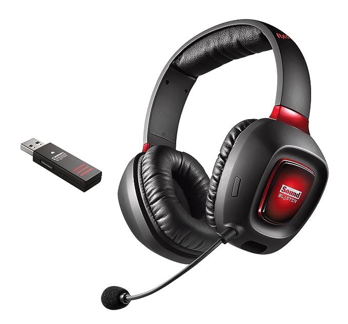 5 opinioni per Creative Sound Blaster Tactic3D Rage Wireless V2.0 Cuffie per Videogiochi, Nero