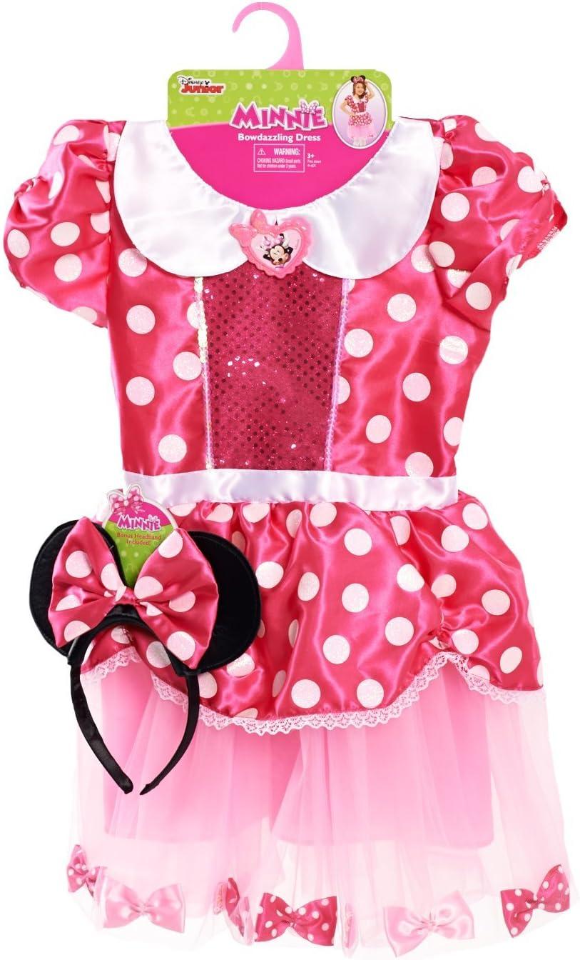 Just Play Minnie de Vestido con Diadema: Amazon.es: Juguetes y juegos