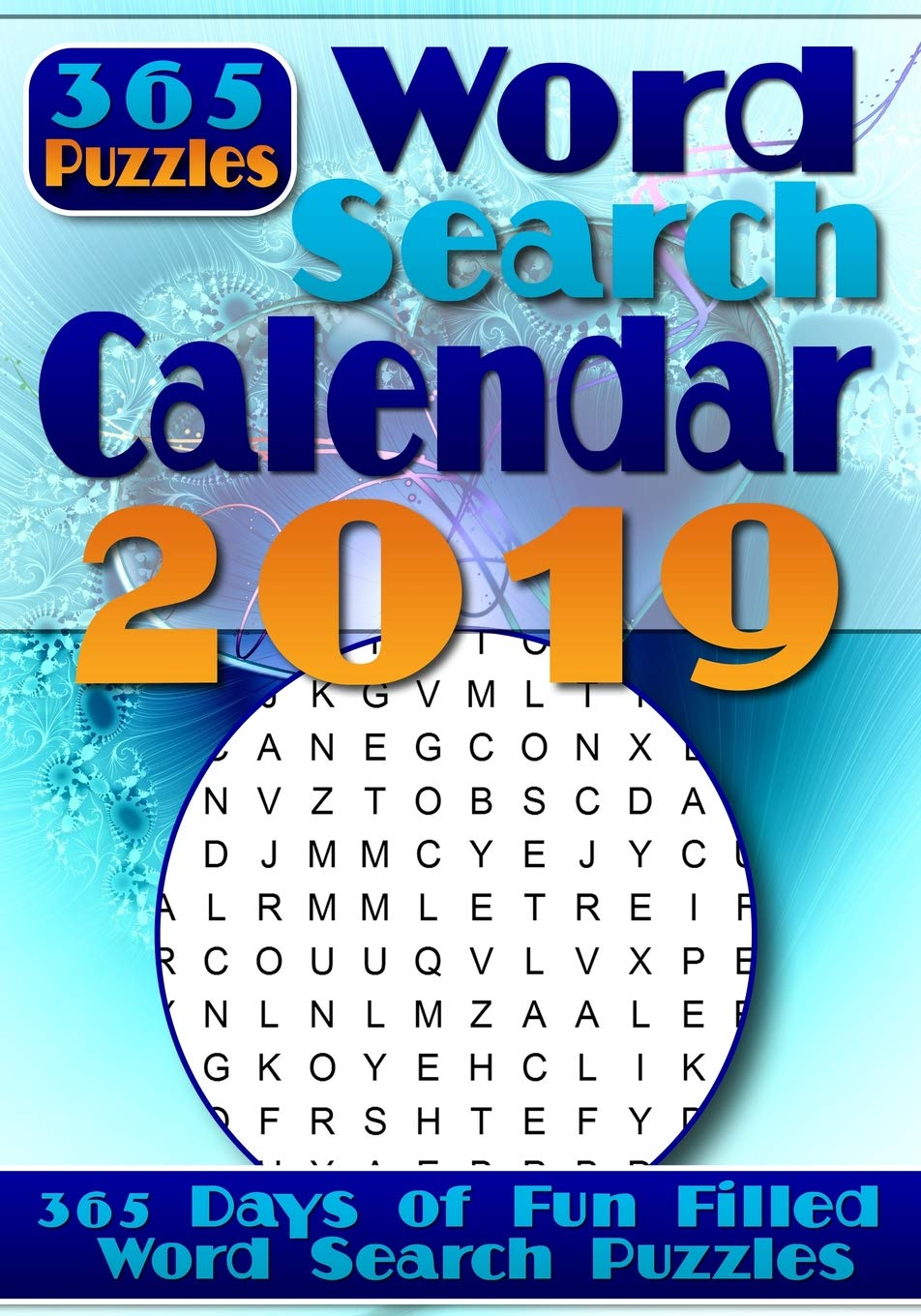 Word Search Calendar 2019: Word Search a Day - 365 Word