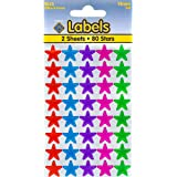 Assorted Stars Large Stickers 14mm