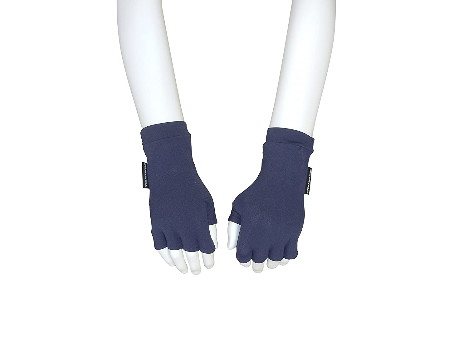 Driving gloves spf - Amazon Com Uv Sun Protective Fingerless Driving Gloves Navy Large Sports Outdoors