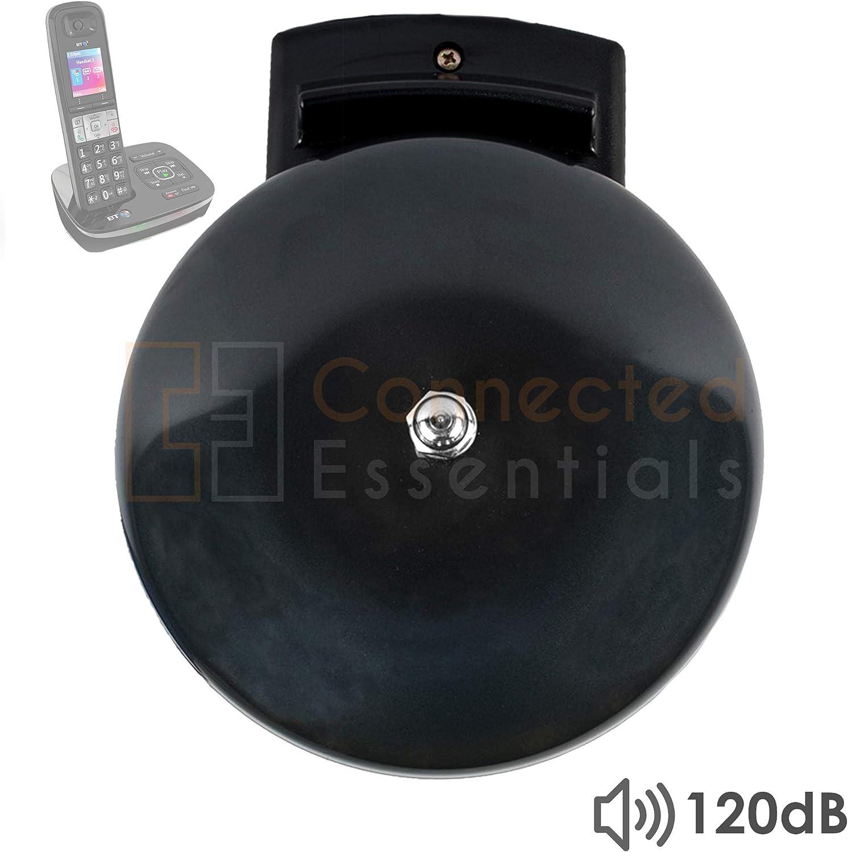 Connected Essentials CEA-90 Sonnette Ultra r/ésistante avec Alerte dappel amplificateur