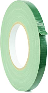 WOD DTC10 Advanced Strength Industrial Grade Dark Green Duct Tape, 1/2 inch x 60 yds. Waterproof, UV Resistant For Crafts & Home Improvement