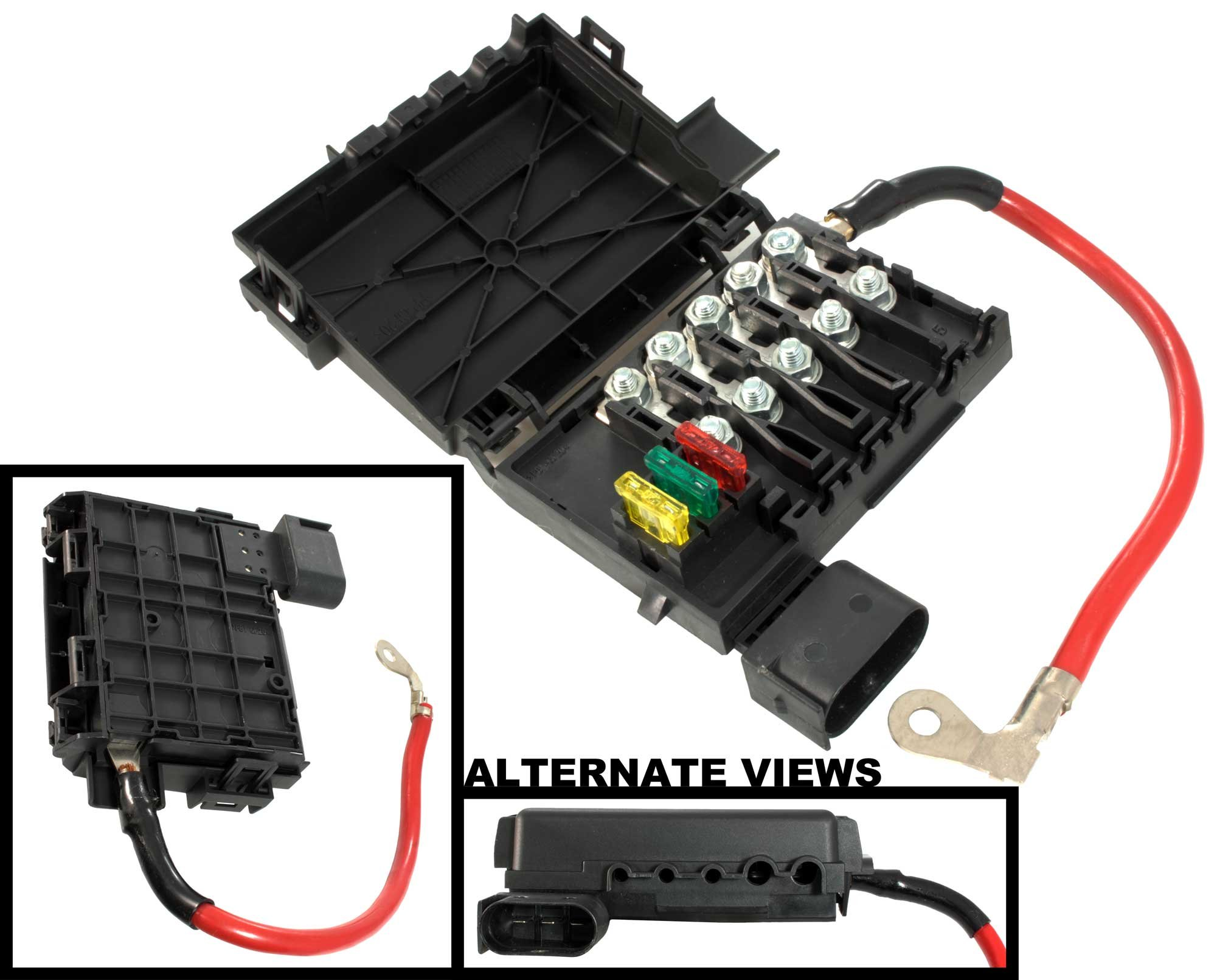APDTY 035792 Fuse Box Assembly Battery Mounted With New Fuses & Fusible Fuse  Links Fits 1998
