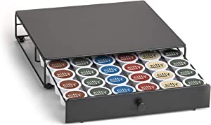 NIFTY Storage Drawer K-Cup Holder, King, 36 Coffee Pod capacity