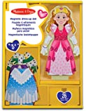 Melissa & Doug 13553 Deluxe Princess Elise Magnetic Wooden Dress-Up Doll Play Set (24 Pieces)