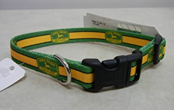john deere dog collars