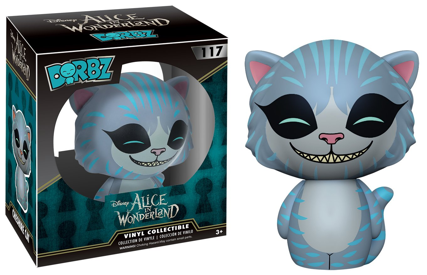 Funko Dorbz: Alice in Wonderland Action Figure Cheshire 7816 Accessory Toys /& Games Colors May Vary