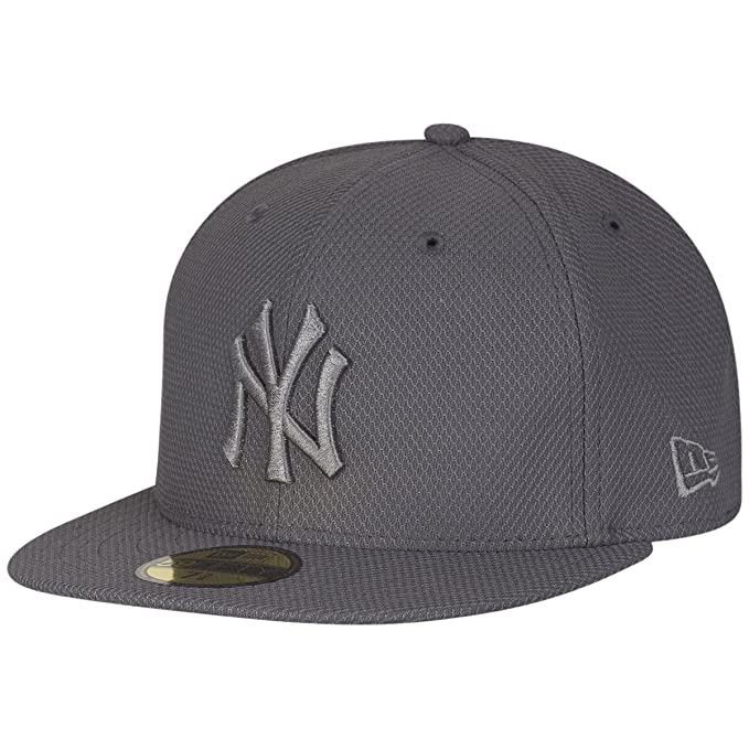 New Era Diamond Era 59Fifty Cap NY Yankees Dunkelgrau