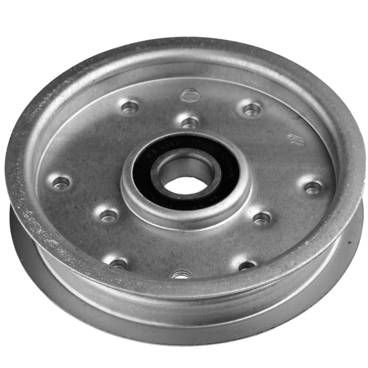 LASER Flat Idler Pulley Replaces Murray & Snapper 690549 - Fits Primary Deck Drive Belt On Many 46 & 52 Inch Decks