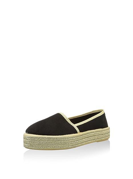 Sixtyseven Alpargatas Yute Negro EU 37: Amazon.es: Zapatos y complementos