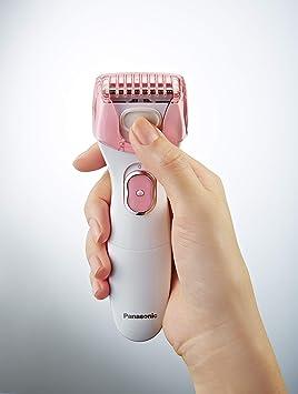 Panasonic ES-WL50-P503 - Afeitadora Femenina Eléctrica Wet&Dry ...