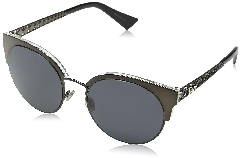 Dior DIORAMAMINI IR 807 Gafas de sol, Negro (Black/Grey Blue ...