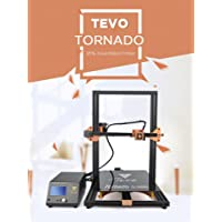 tevo® Tornado entièrement assemblé - Imprimante 3D - 300 * 300 * 400 mm grande druckbereich - Imprimante 3D - Kit d'impression 3D