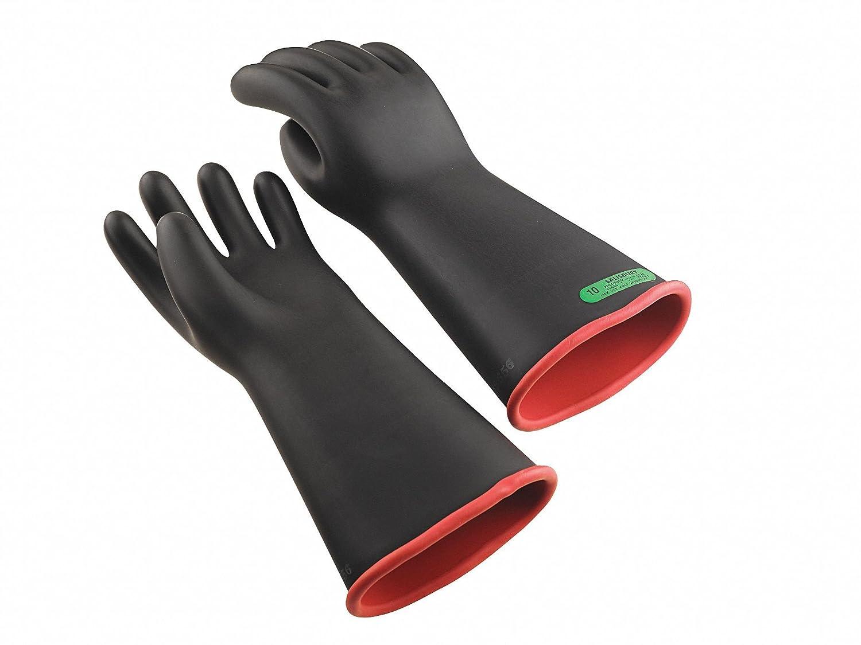 ブラックexteriorx2 F ;レッド内部電気手袋、天然ゴム、3クラス、サイズ10 – 1 x 2 F ; 2 – 1各 B007IBEF5A