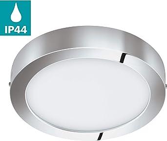 Stilvolle Deckenleuchte in Chrom Deckenlampe Ø30cm 2x E27 NEU Beleuchtung innen