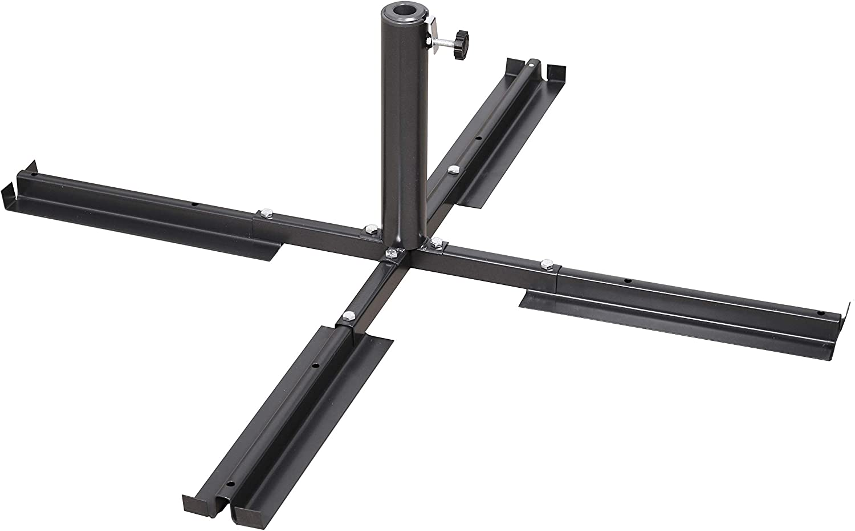 Schneider Support plaques Parasol Accessoires 105x105x35 cm Anthracite