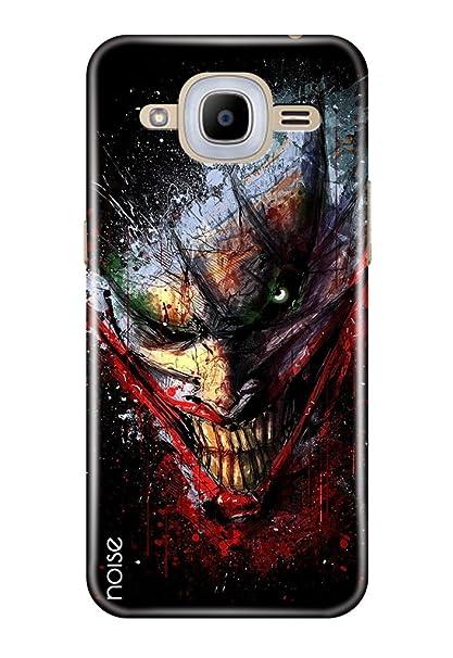 best cheap 2e4c2 a4266 Noise Samsung Galaxy J2-6 Cover, Printed Designer Back Cover for Samsung  Galaxy J2-6 2016 Edition Case Cover/Animated Cartoons/Joker Batman Design -  ...