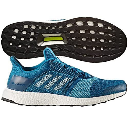 8a495471e9 Adidas Ultraboost ST Running Shoe - Men s Mystery Petrol Footwear  White Blue Night