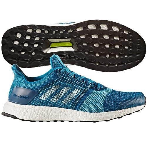 Adidas Ultraboost ST Running Shoe - Men s Mystery Petrol Footwear  White Blue Night 4436eadbb559e