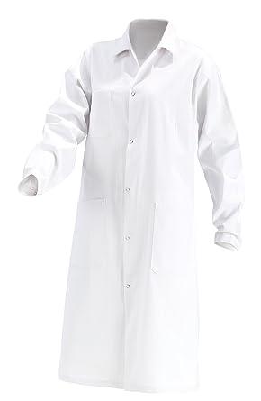Damen Laborkittel, B-Ware, 100% Baumwolle, weiß Labor Kittel Mantel ...