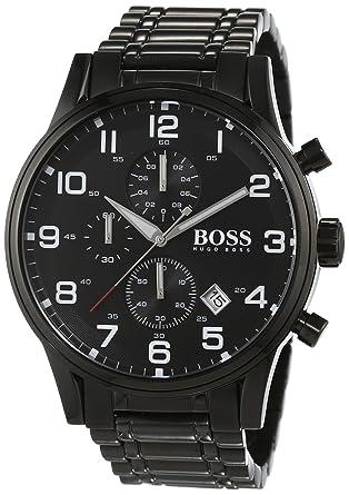 Hugo Boss schwarzer Herren-Chronograph