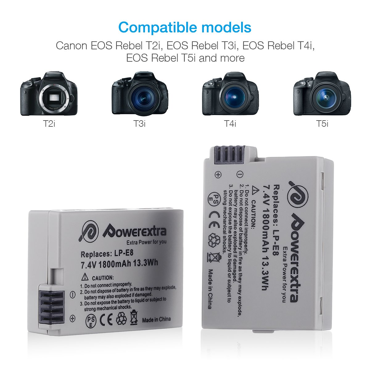 Amazon.com: Powerextra - Batería de repuesto para Canon LP ...