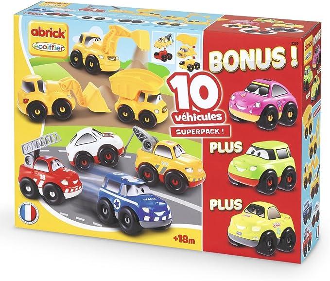Abrick - Pack de 10 vehículos (Smoby 3259): Amazon.es: Juguetes y ...