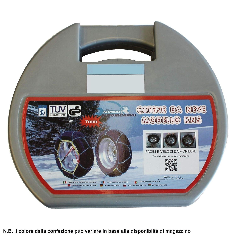 Kawin Catene da Neve OMOLOGATE 215 60 16 V5117 7mm 215//60-16 R16