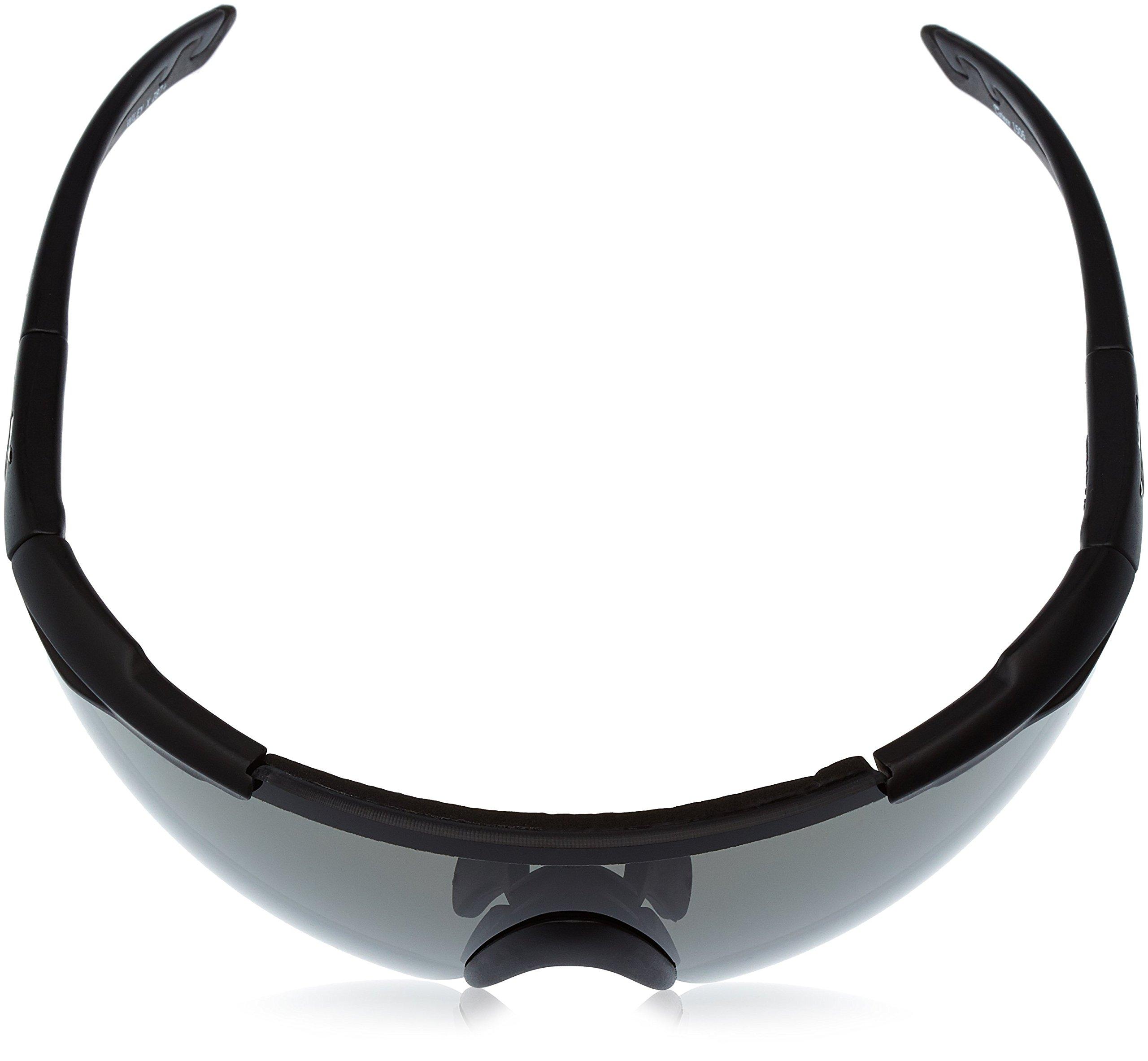 Wiley X Saber Advanced Sunglasses, Smoke Grey, Matte Black