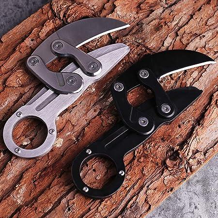 Amazon.com : Promithi Outdoor Claw Knife Folding Knife ...