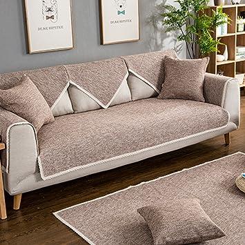 SAFAJINHH Funda de sofá,Tapizado Protector para sofás Lino ...