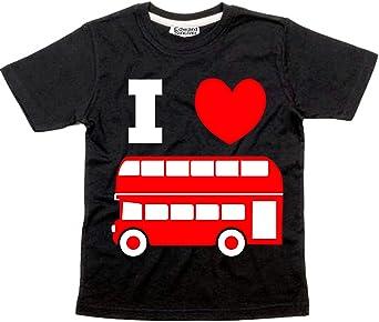 Edward Sinclair Baby Boys T-Shirt I Love Buses with Print