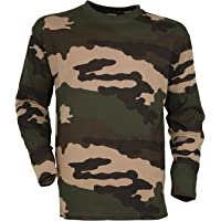 TEE SHIRT MANCHES LONGUES CAMOUFLAGE MILITAIRE AIRSOFT
