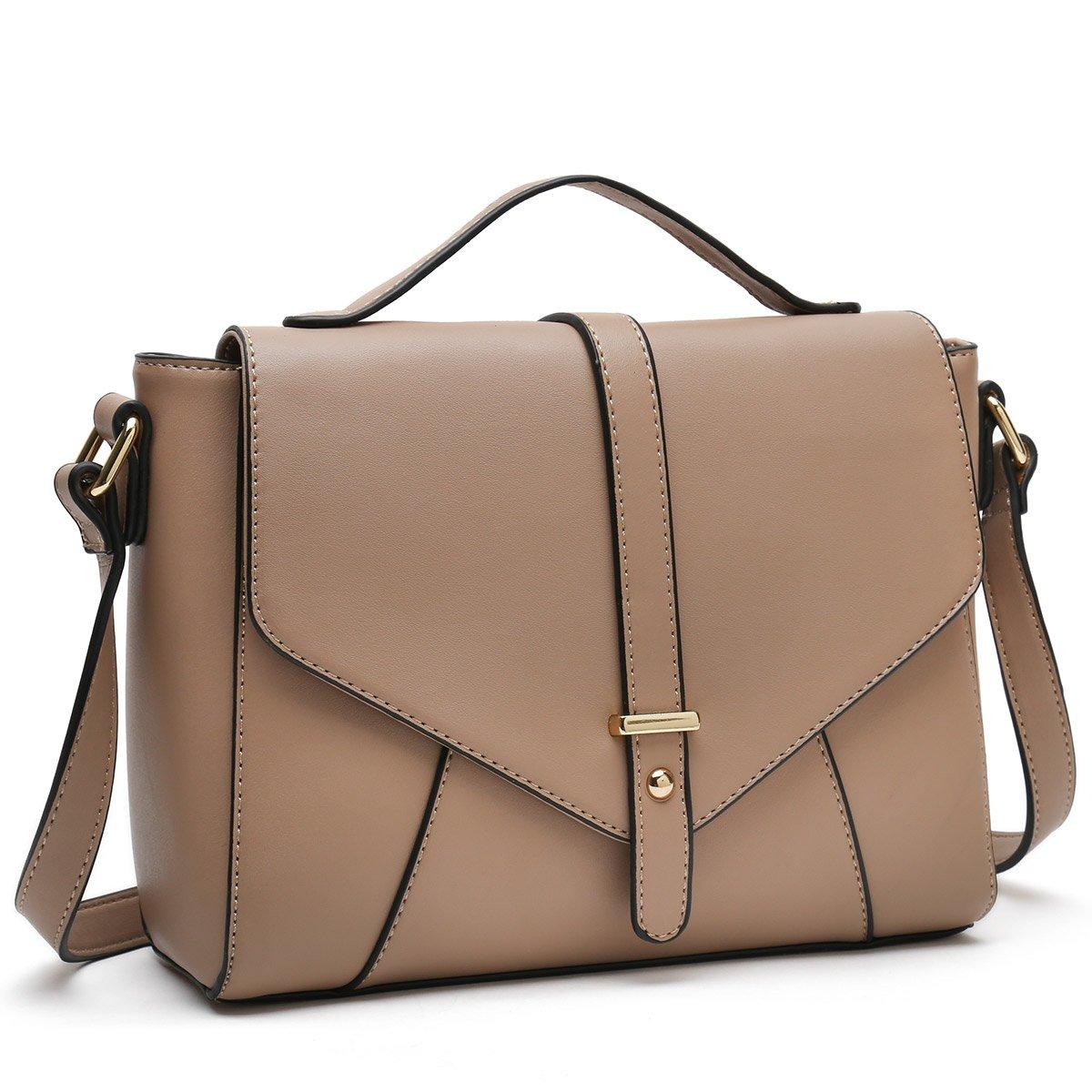 61128b27c Medium Sized Crossbody Purses Ladies Designer Shoulder Bags for Women  Handbags (Apricot): Handbags: Amazon.com