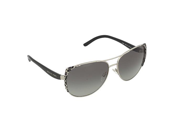 Womens Sadie 1 105713 Sunglasses, Black Gold Leopard/Black/Browngradient, 59 Michael Kors